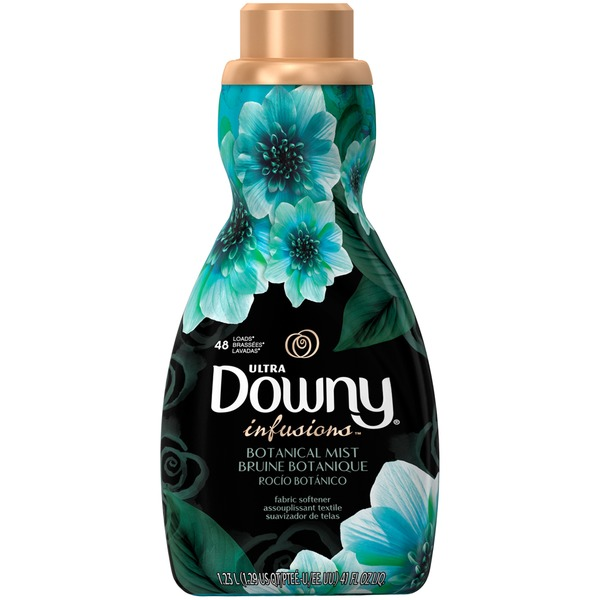 Downy Infusions Ultra Downy Infusions Botanical Mist Liquid Fabric Conditioner 41 FL Oz Fabric Enhancers