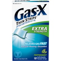 Gas-X Extra Strength Peppermint Thin Strips Antigas