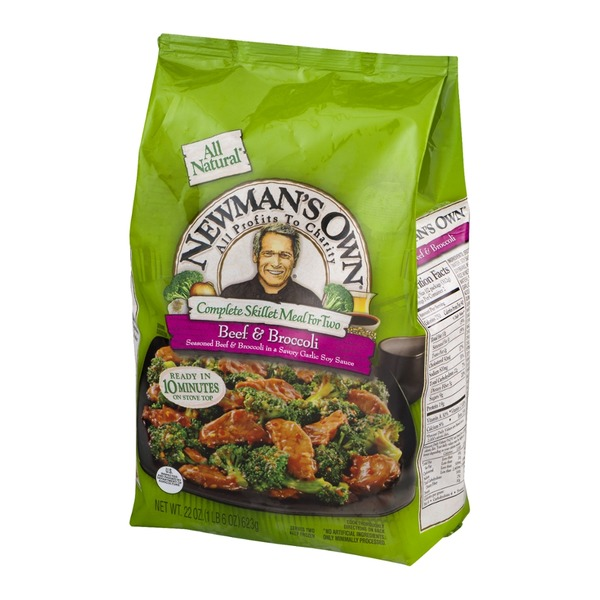 Newman's Own Complete Skillet Meal for Two Beef & Broccoli