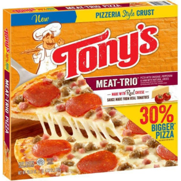 Tony's Pizzeria Style Crust Meat-Trio Pizza