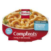 Hormel Compleats Comfort Classics Macaroni & Cheese 7.5 oz. Microwave Bowl