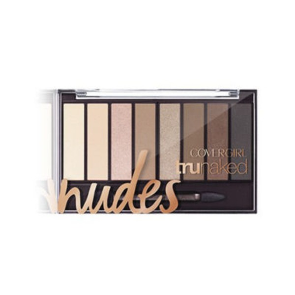 CoverGirl truNaked COVERGIRL truNaked Eye Shadow, Nudes .23 oz (6.5 g) Female Cosmetics
