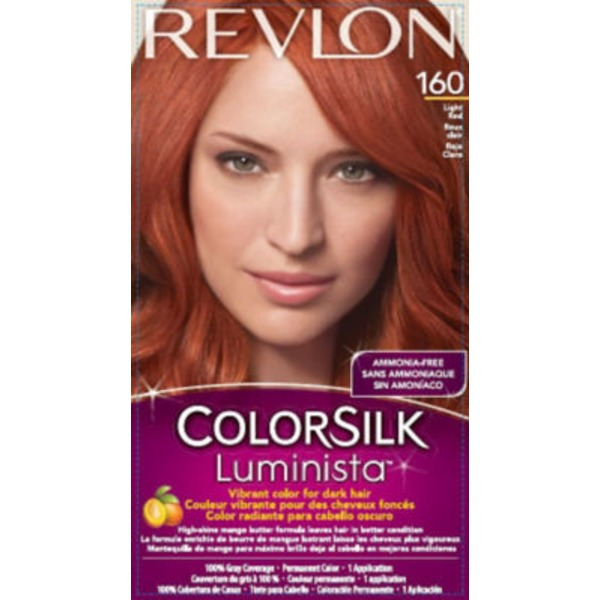 Revlon Color Silk Luminista 160 Light Red Permanent Color