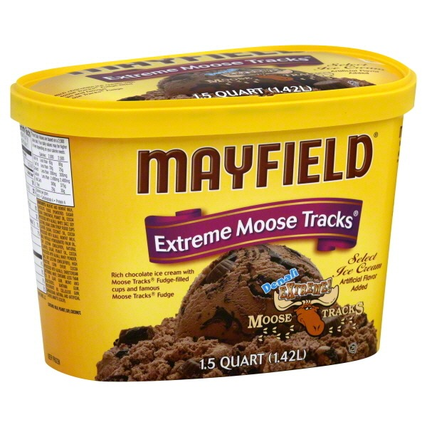 Mayfield Denali Extreme! Moose Tracks Select Ice Cream