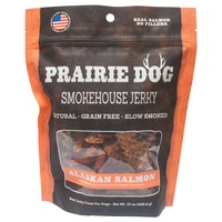 Prairie Dog Smokehous Jerky Alaskan Salmon Treat For Dogs