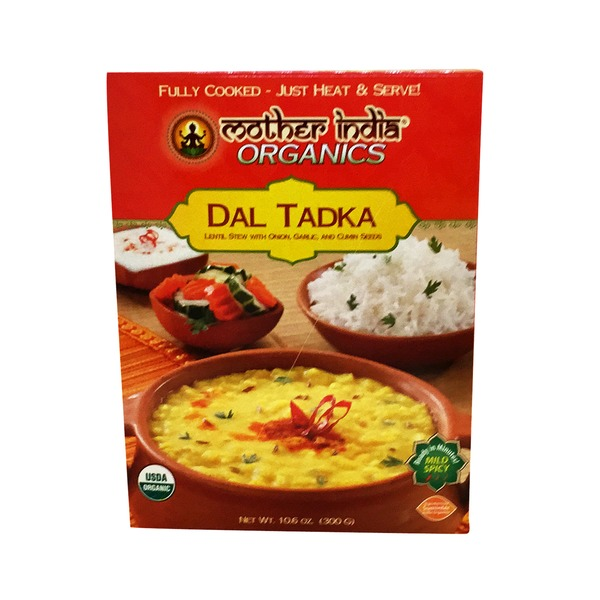 Mother India Organic Dal Tadka Lentil Stew