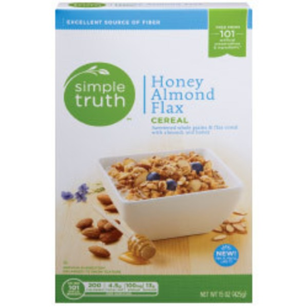 Simple Truth Organic Honey Almond Flax Cereal
