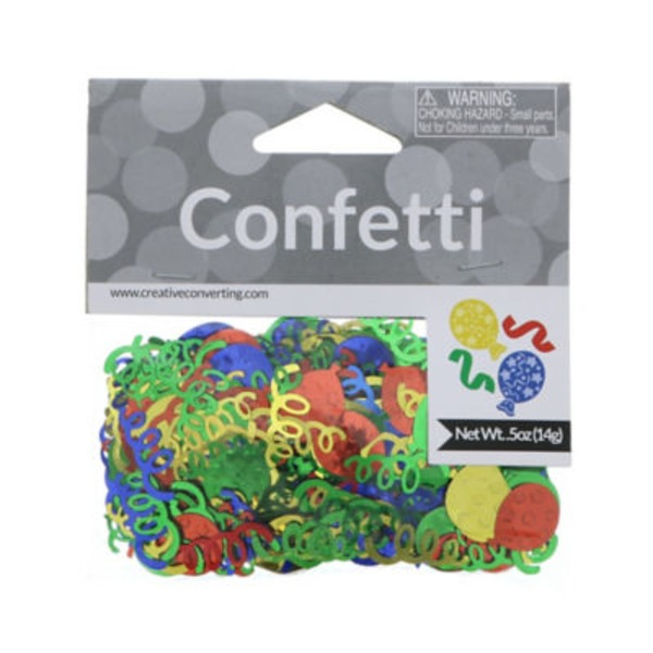 Creative Expressions Confetti Balloons & Streamers