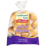 Organic Yellow Potatoes, 3 lbs