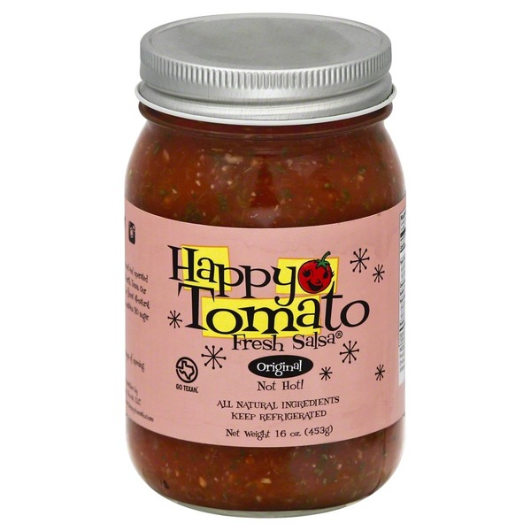 Happy Tomato Salsa, Original, Jar
