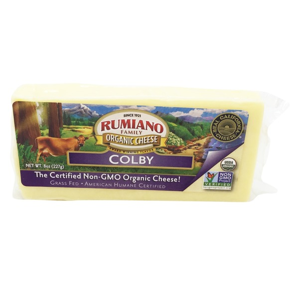 Rumiano Family Organic Colby Cheese
