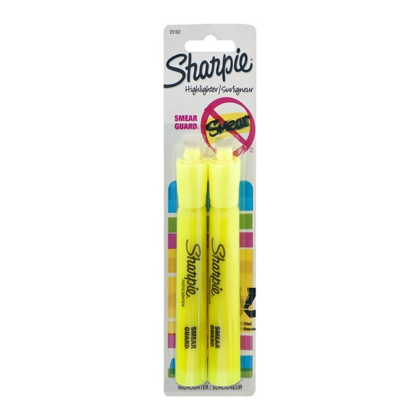 Sharpie Highlighter Smear Guard - 2 CT