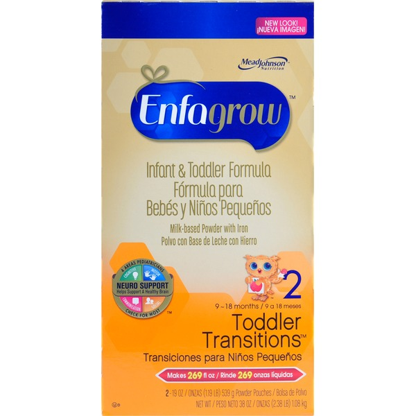 Enfagrow Toddler Transitions Formula 9-18 Months
