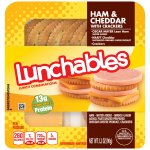Lunchables Ham & Cheddar with Crackers Lunch Combination 3.2 oz. Tray