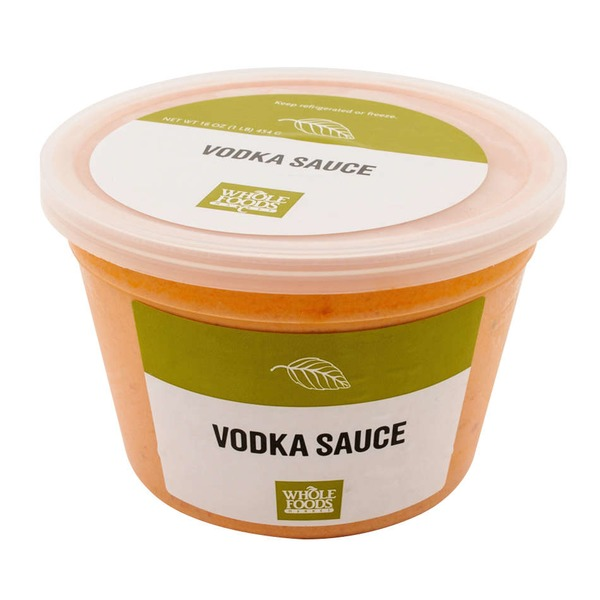 Whole Foods Market Vodka Pasta Sauce