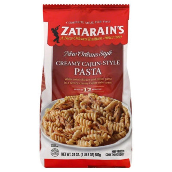 Zatarain's Creamy Cajun-Style Pasta Complete Meal for Two