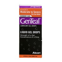 GenTeal Economy Size Liquid Gel Drops Moderate to Severe Dry Eye Relief