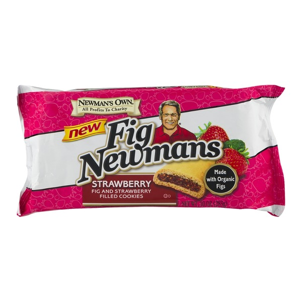 Newman's Own Fig Newmans Strawberry Fig and Strawberry Filled Cookies
