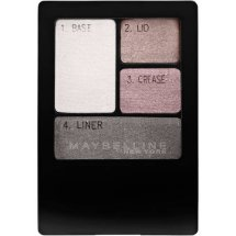 Maybelline Expert Wear Eyeshadow Quads, Charcoal Smokes, 0.17 Oz