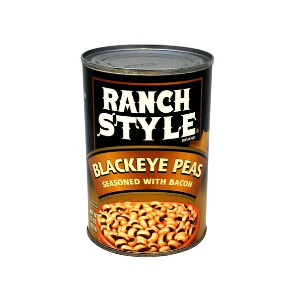Ranch Style Brand Blackeye Peas, Seasoned with Bacon