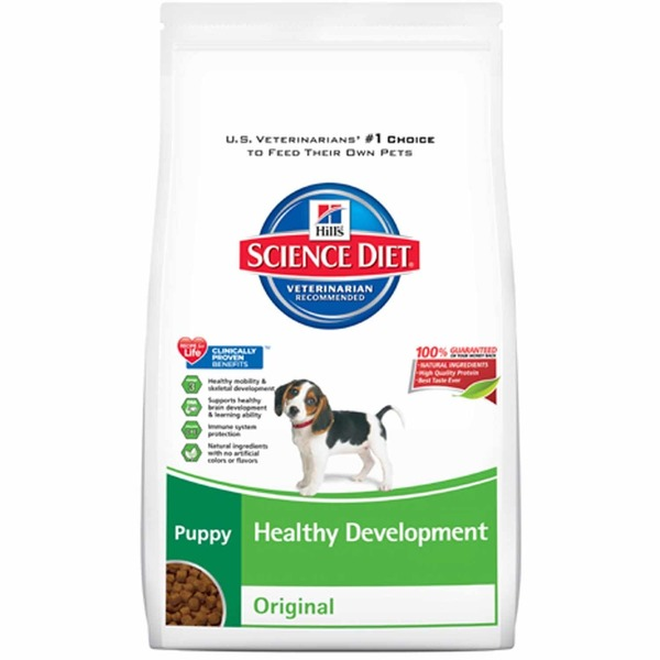 Hill's Science Diet Dog Food, Dry, Puppy (Up To 1 Year), Healthy Development, Original