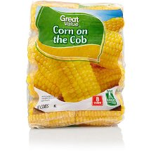 Great Value Corn On The Cob, 8 Ct