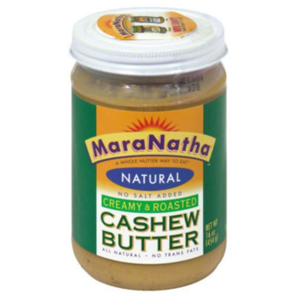 Maranatha All Natural Roasted Creamy Cashew Butter