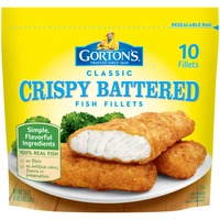 Gorton's Classic Crispy Battered Fish Fillets