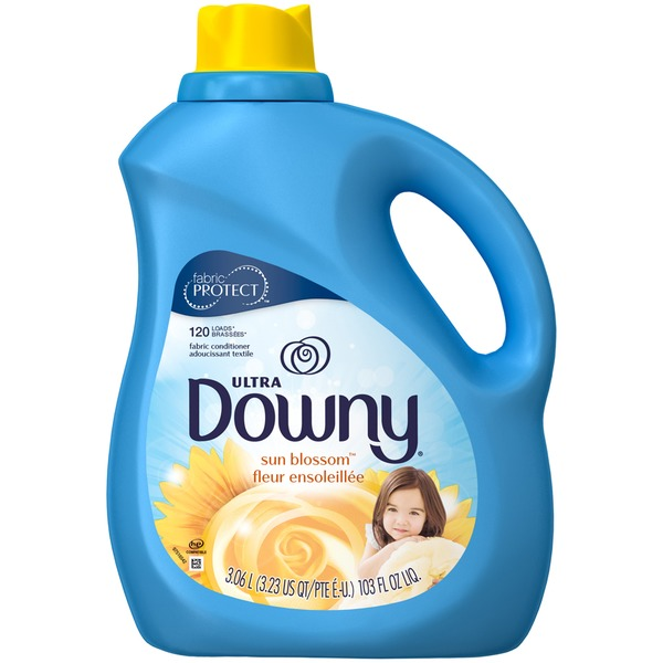 Downy Ultra Downy Sun Blossom Liquid Fabric Conditioner 103 Fl oz. Fabric Enhancers