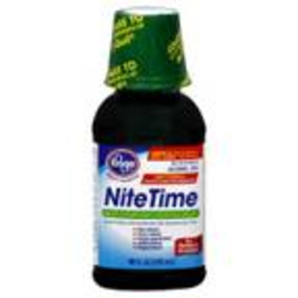 Kroger Nitetime Cough & Cold Multi Symptom Relief Liquid