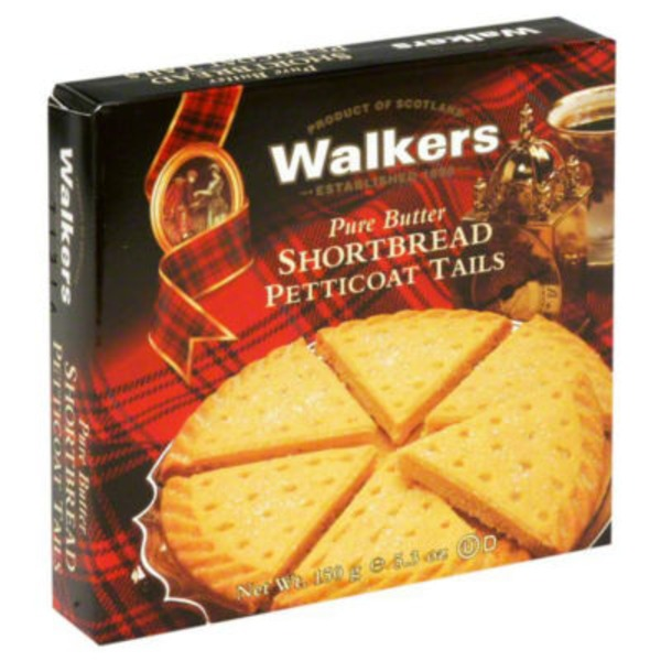 Walkers Shortbread Petticoat Tails, Pure Butter