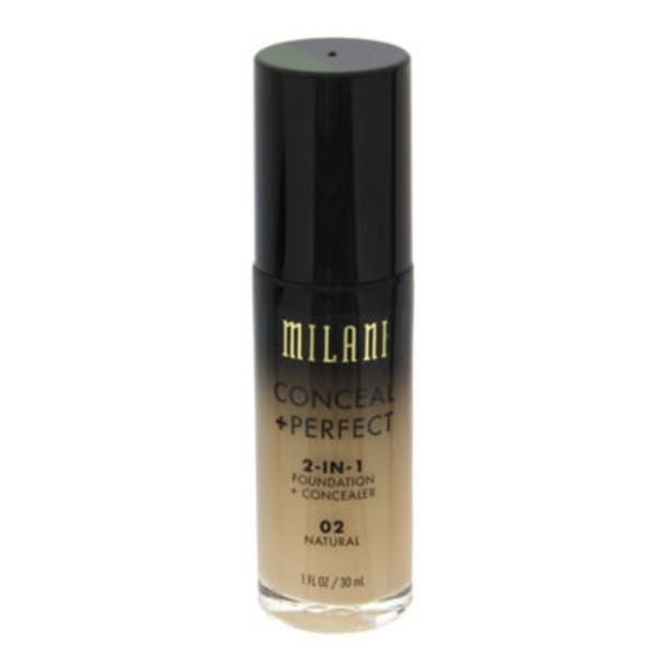 Milani 02 Natural 2-In-1 Conceal & Perfect Foundation & Concealer