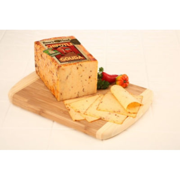 Boar's Head Bold Chipotle Gouda Cheese, Sold By The