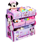 Disney Multi-Bin Toy Organizer Minnie Mouse