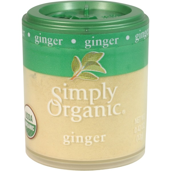 Simply Organic Certified Organic Ginger Root Ground