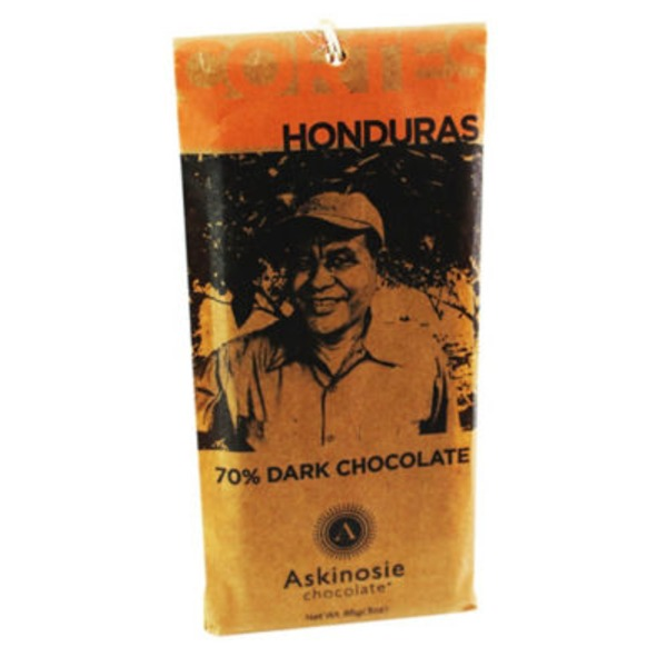 Askinosie Chocolate Honduras 70% Dark Chocolate Bar