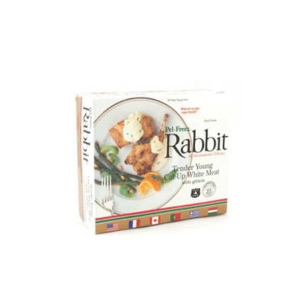 Lac Brome Tender Young Cut Up White Meat Rabbit