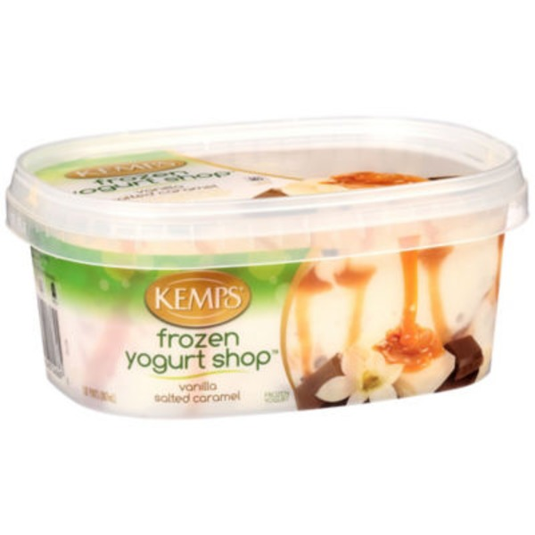 Kemps Vanilla Salted Caramel Frozen Yogurt