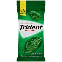 Trident Spearmint Sugar Free Gum with Xylitol