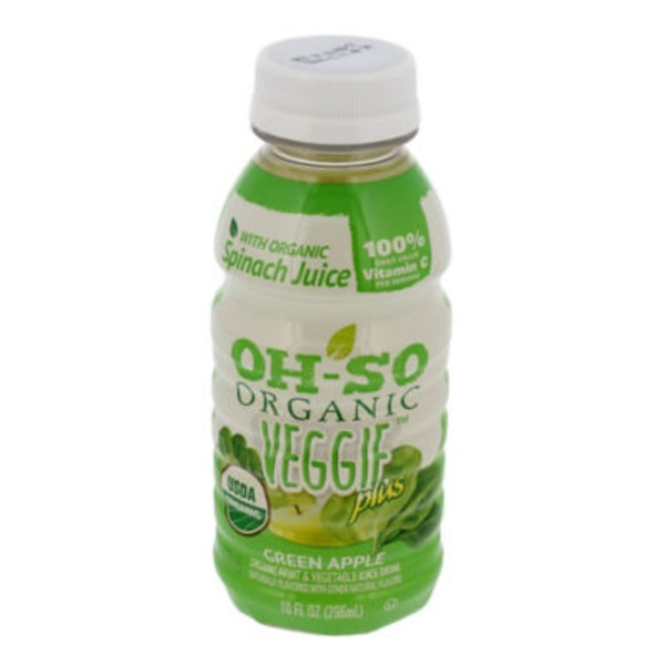 Oh-So Organic Green Apple Fruit & Veggie Juice Drink