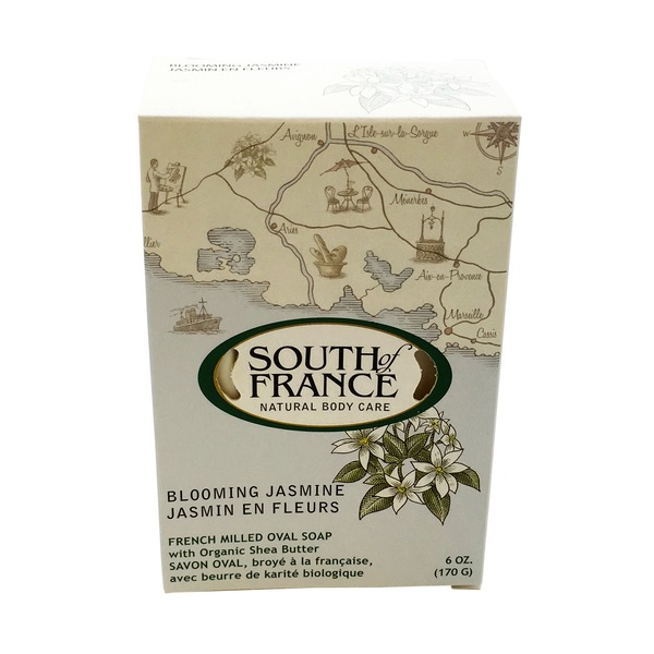 South of France Blooming Jasmine French Milled Oval Soap