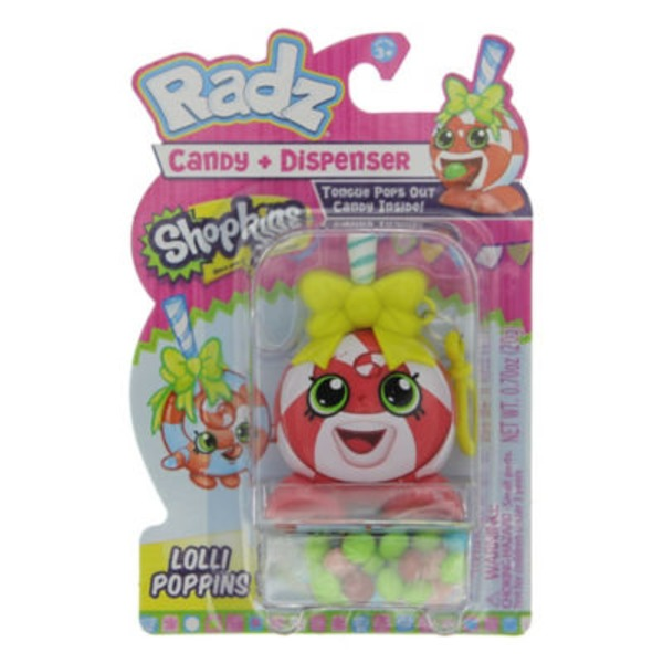 Radz Shopkins Bubbles Candy & Dispenser, Assorted