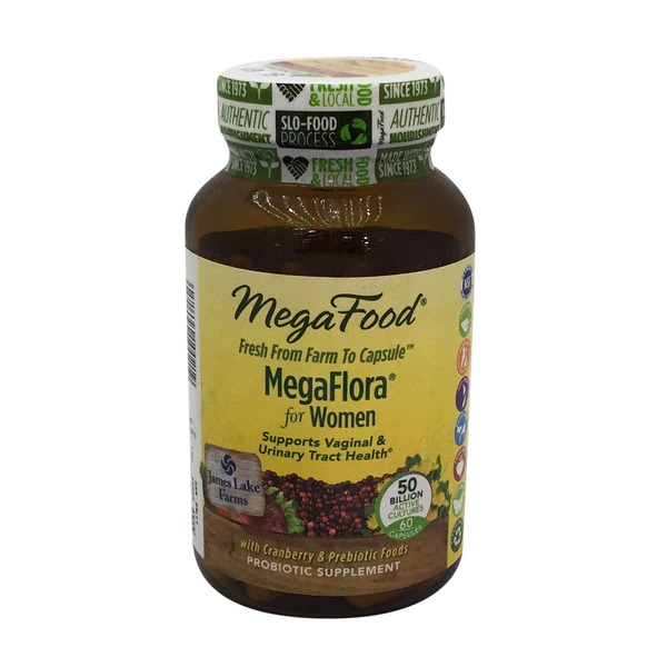 MegaFood Megaflora For Women Probiotic Capsules