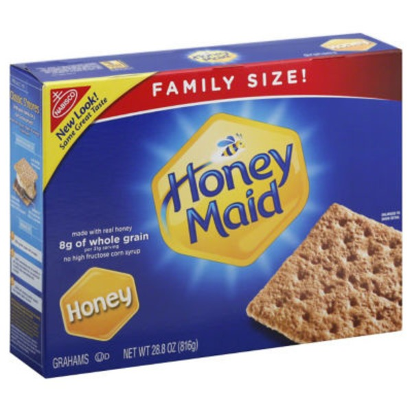 Nabisco Honey Maid Honey Grahams Family Size
