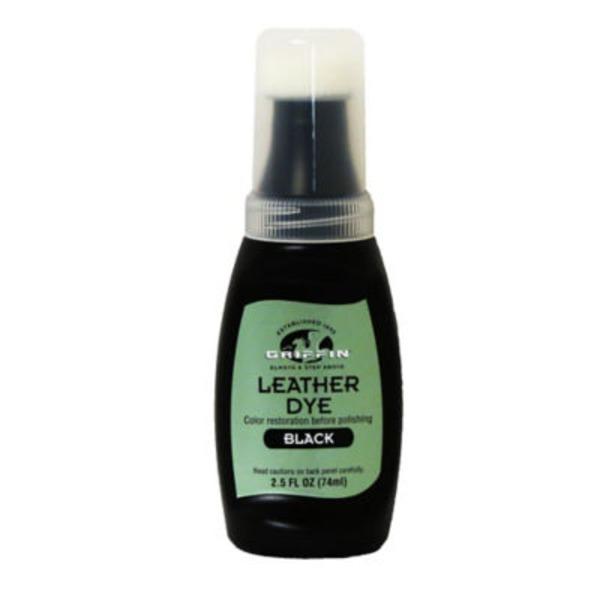 Griffin Black Leather Dye