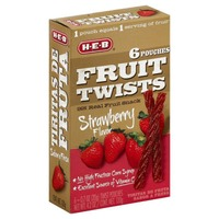H-E-B Strawberry Fruit Twists