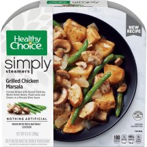 Healthy Choice Simply Steamers Grilled Chicken Marsala, 9.9 Ounce