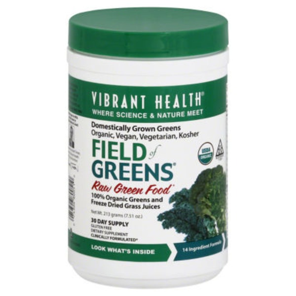Vibrant Health Field of Greens