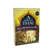 A Taste of Thai Garlic Basil Coconut Rice