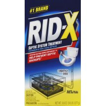 RID-X Septic Treatment, 1 Month Supply Of Powder, 9.8oz